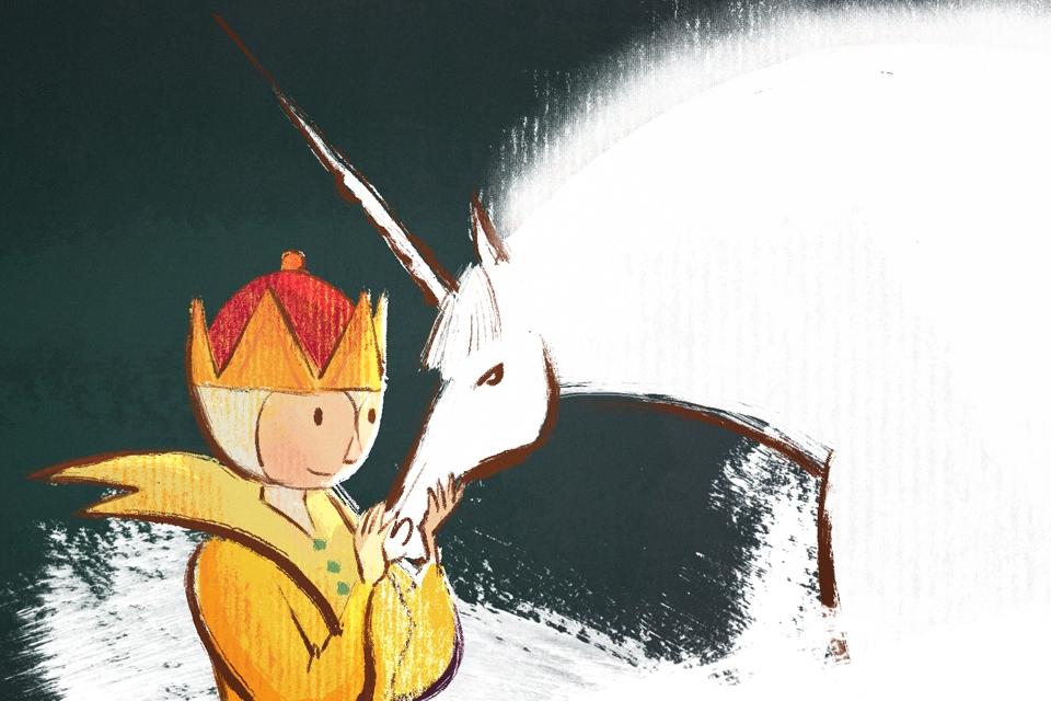 La petite reine et la licorne
