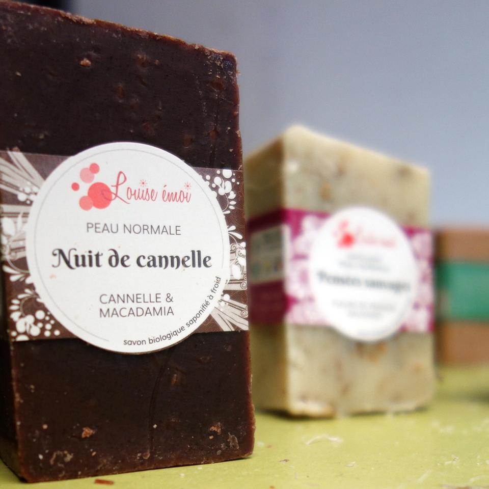 Louise Emoi, artisanat français de savons saponifiés à froid