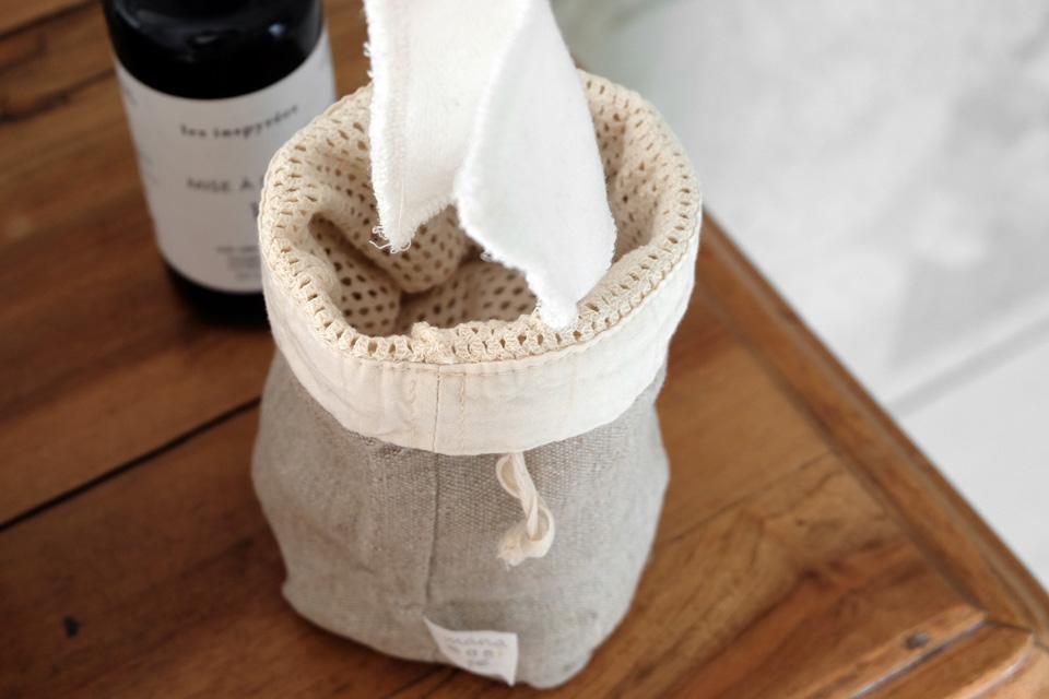 Cotons lavables Manamani