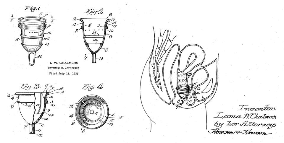 La premier brevet de coupe menstruelle