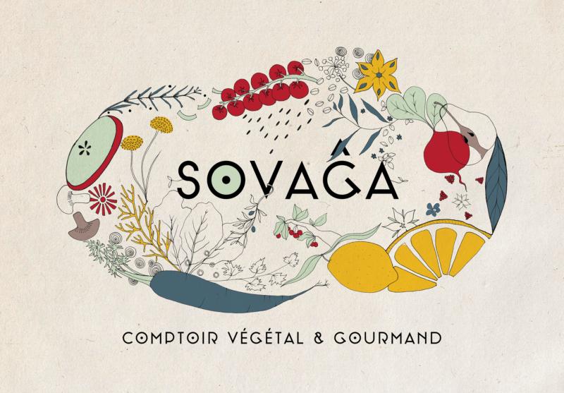 Sovaga, comptoir végétal et gourmand