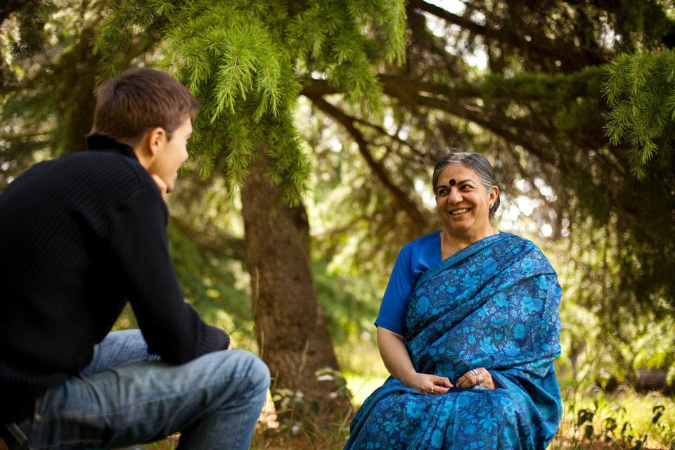 La rencontre avec Vandana Shiva
