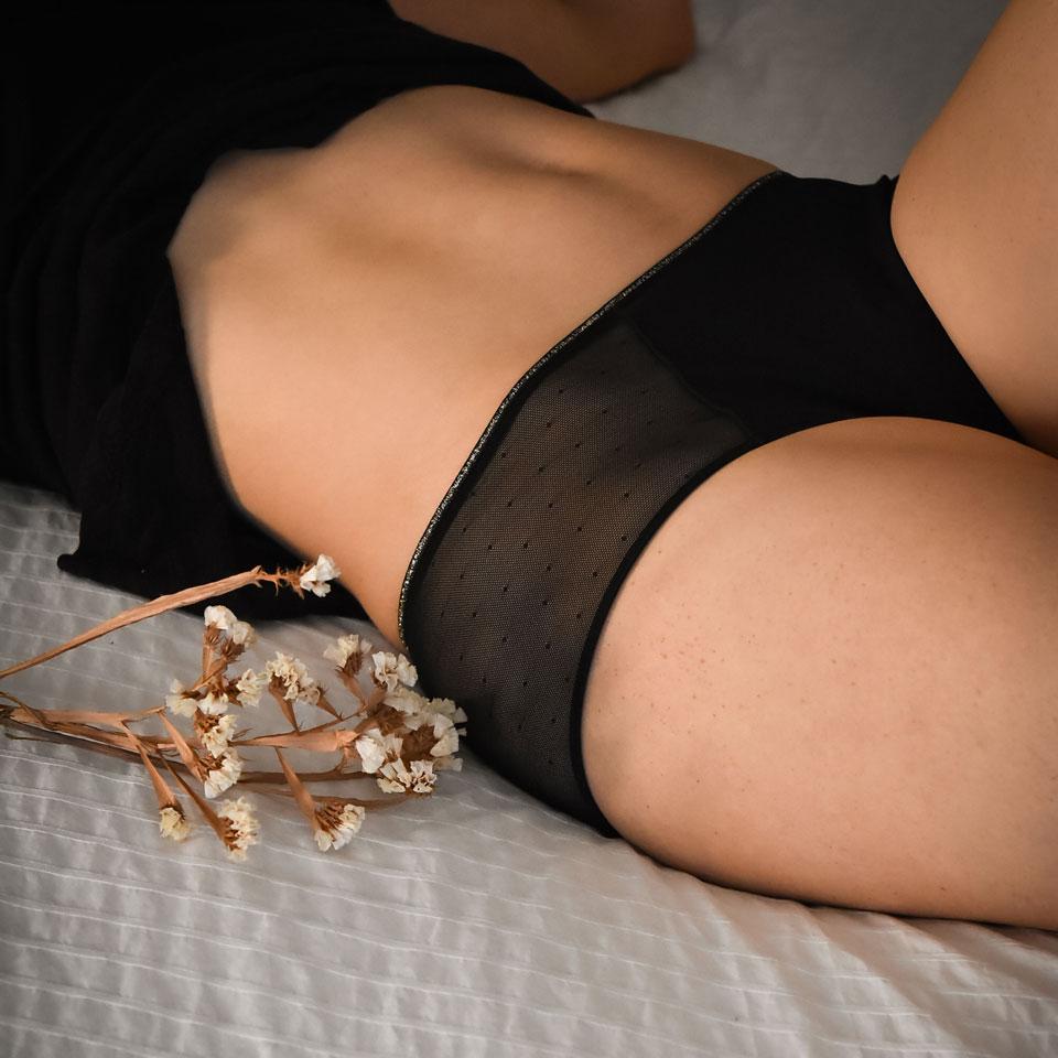 Une sélection de culottes menstruelles pour des règles au naturel !