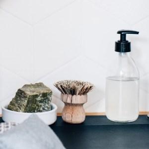 Liquide vaisselle zéro déchet