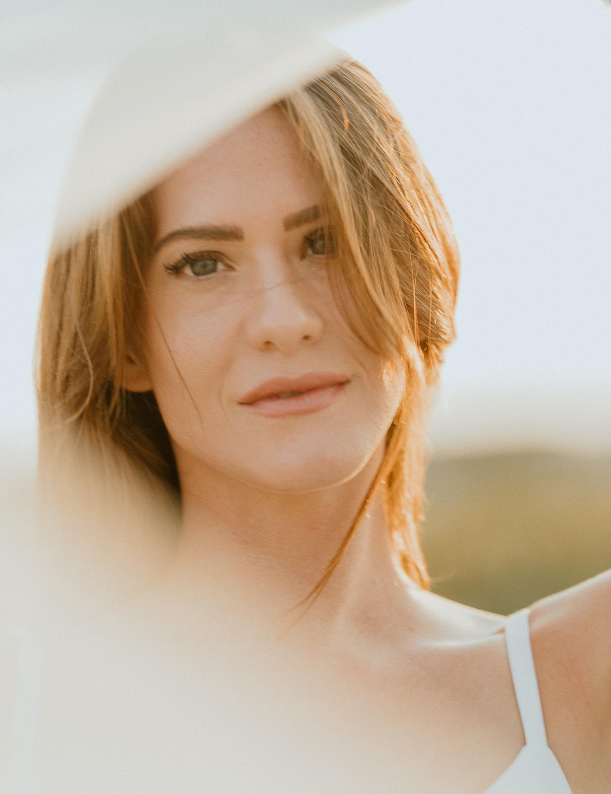 Claire & Co Bridal Editorial Portraits in Coronado CA