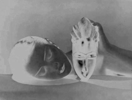 Man Ray, Noire Blanche (negative)