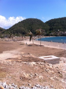 Playa Siboney Cuba pre and post Hurricane Sandy  Claire Boobbyer