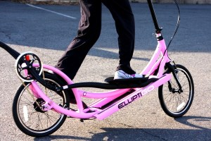 Never Too Late for an elliptigo ride!