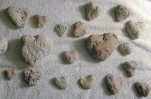Heart-shaped Rocks