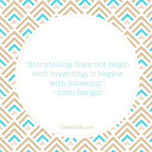 Quote of the Day: Storytelling