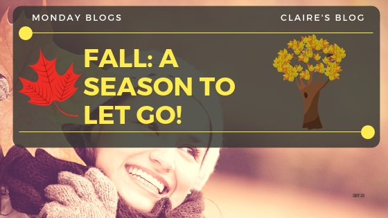 #MondayBlogs Fall: A Season to Let Go (Of Creative Block)!