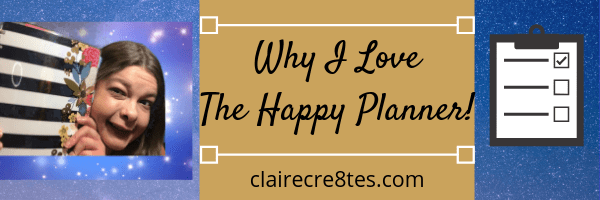 All the Reasons I Love the #HappyPlanner! #PlannerTalks