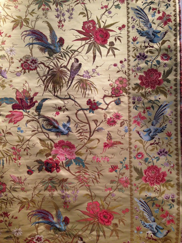 Chinese Silk Fabric Designs