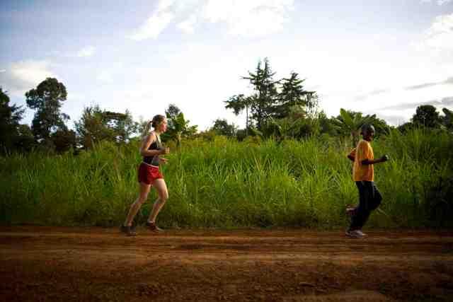 """""""Hope Runs""""  Nyeri, Kenya.  May 12 and 13, 2007."""
