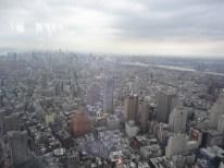 New York City extends far, far away.