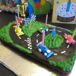 Kid S Race Circuit Birthday Cake Art And Soul