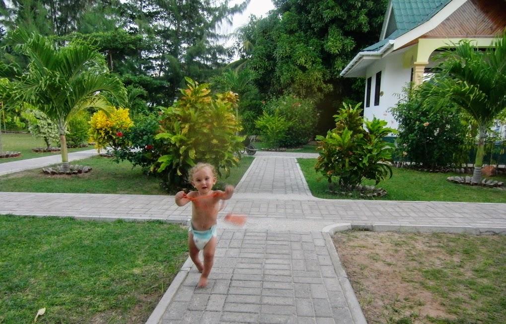 viaggi con bambini in un residence alle Seychelles