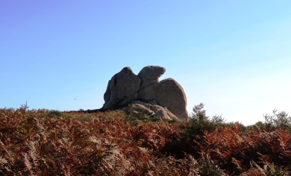 roccia a forma di aquila sull'argimusco
