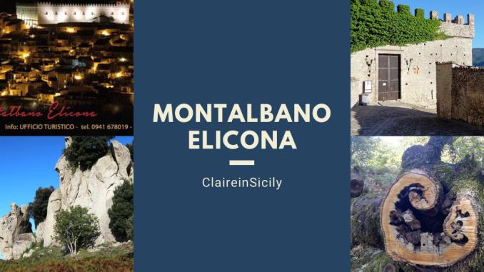 collage di foto di montalbano elicona