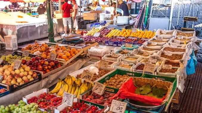 frutta, mercato