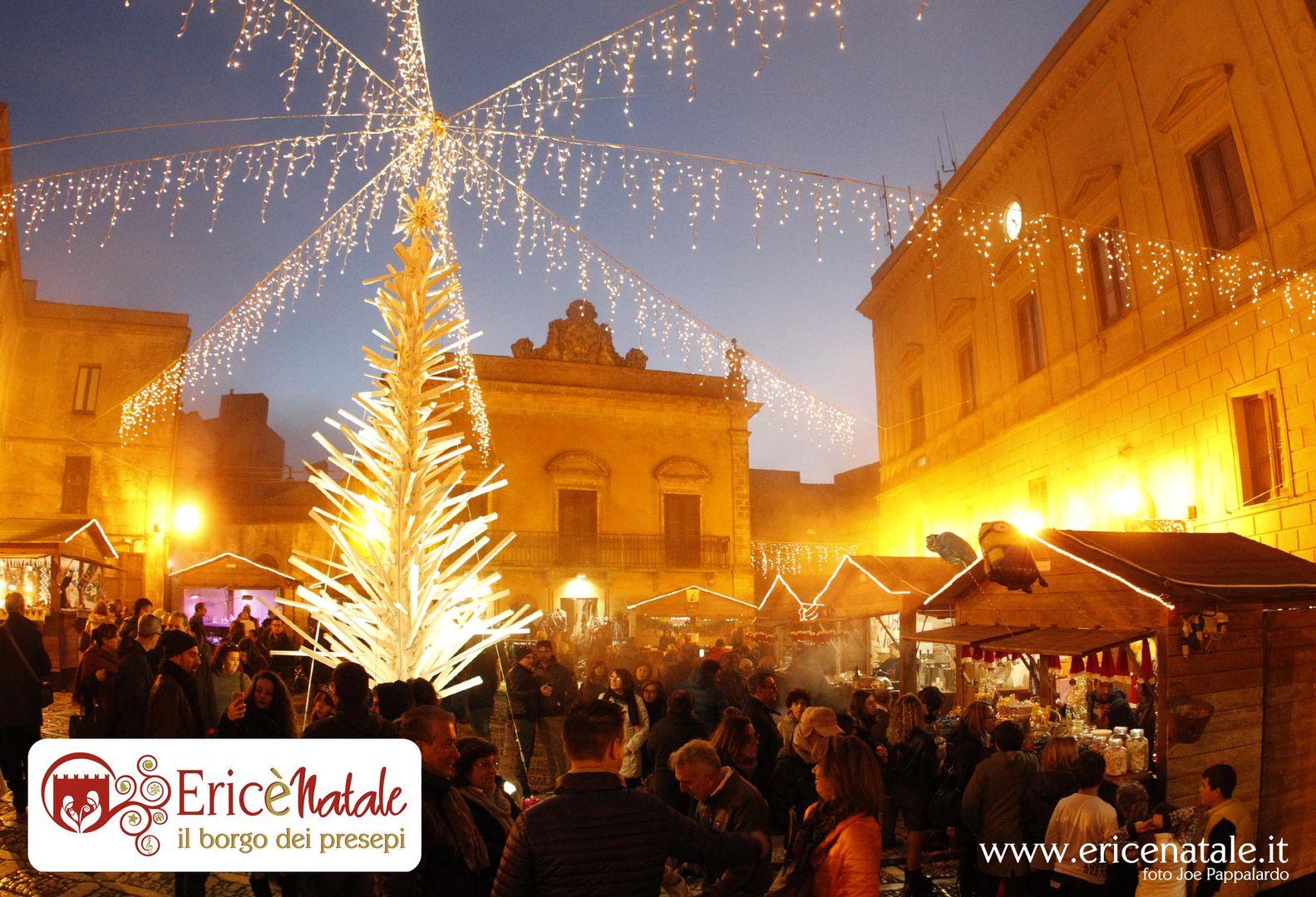 mercatini di natale sicilia erice
