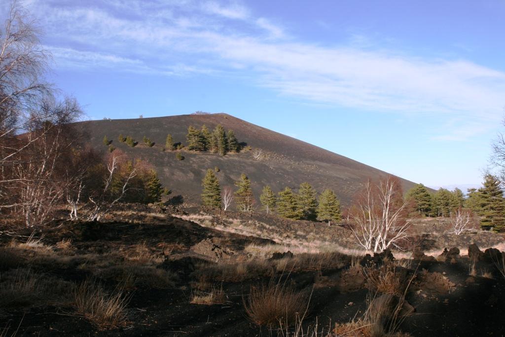 vista sui crateri sartorius Etna