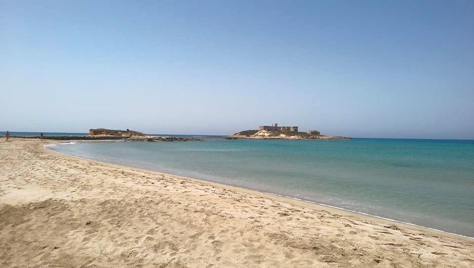 Spiaggia di Isola delle correnti Porto Palo in Sicilia