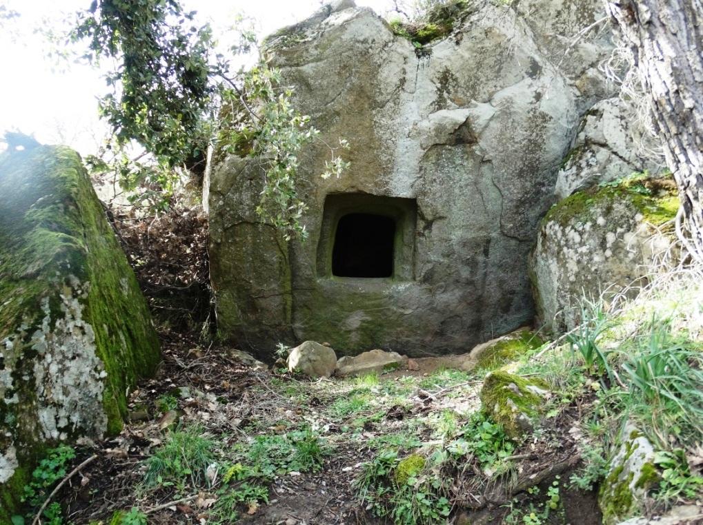 grotticelle a forno ritrovate sul Monte Altesina a Enna
