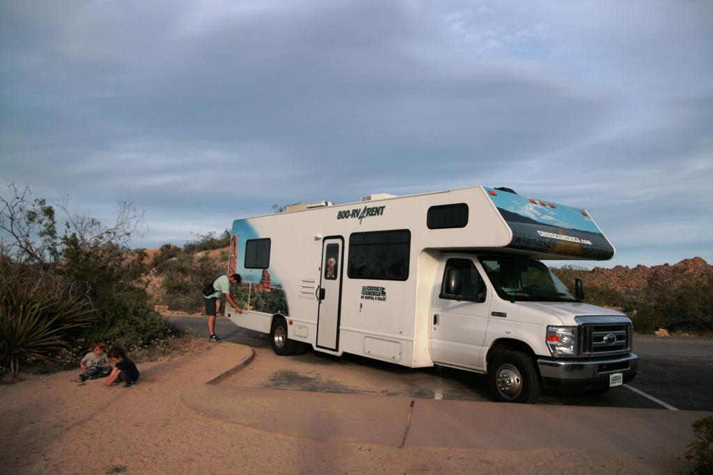 camper negli Stati Uniti