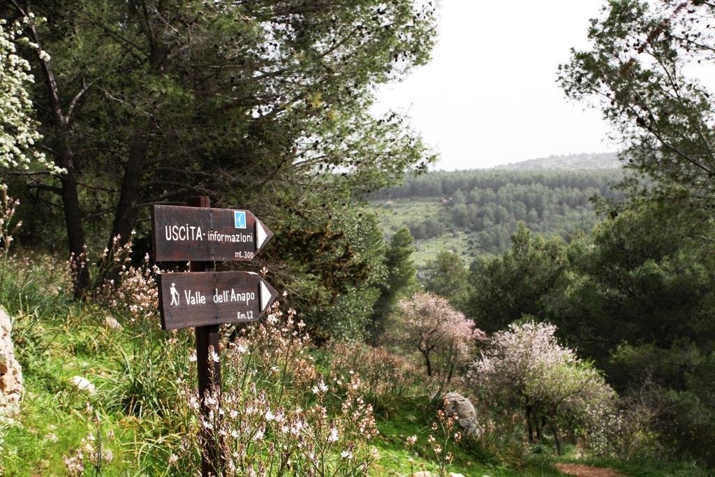 sentiero trekking Pantalica