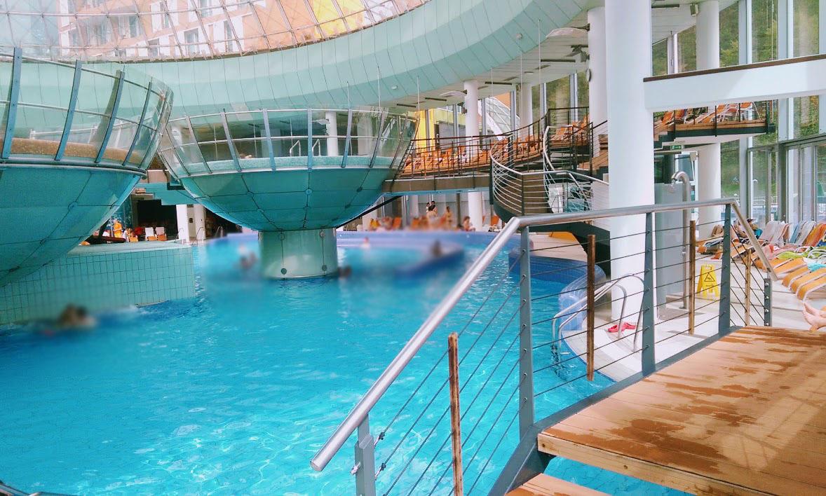piscine alle terme di lasko in slovenia
