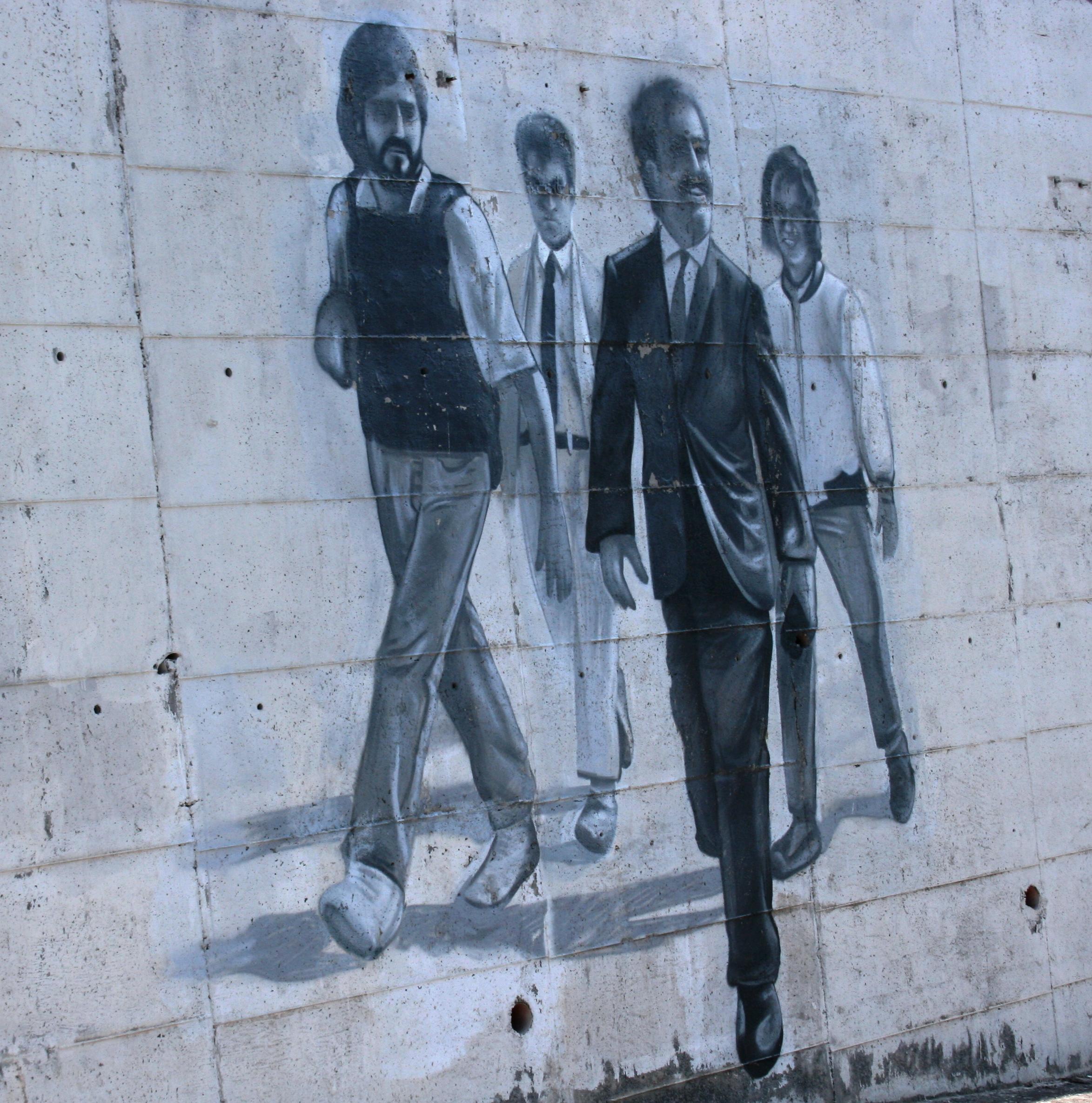 murales dedicato a Giovanni Falcone