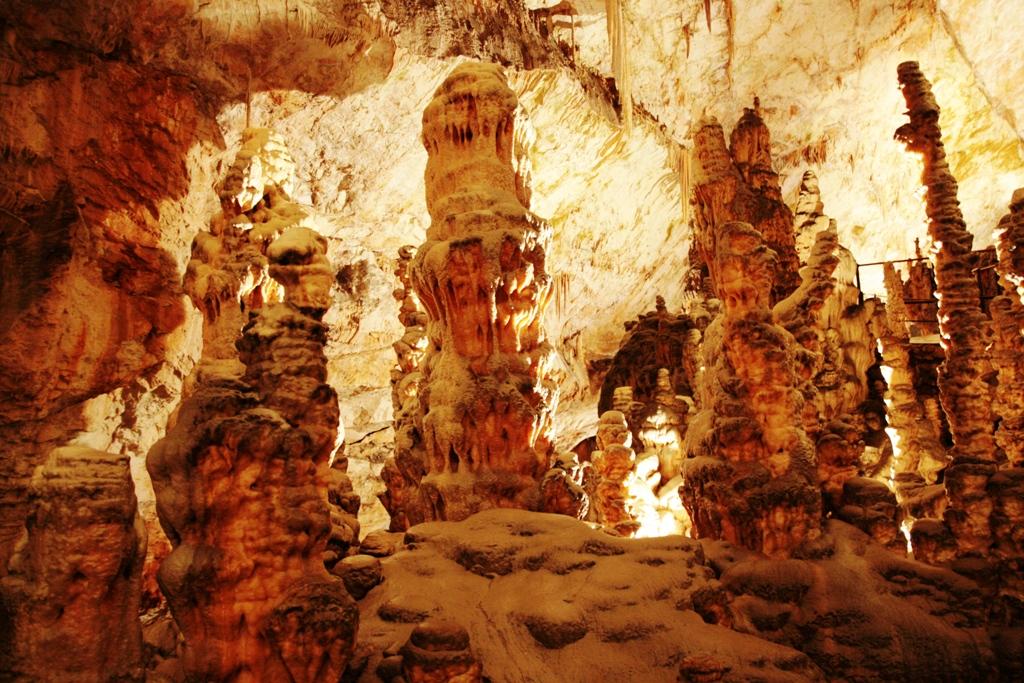 visitare le grotte di postumia con i bambini