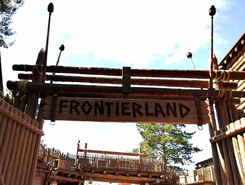 frontierland a disneyland paris