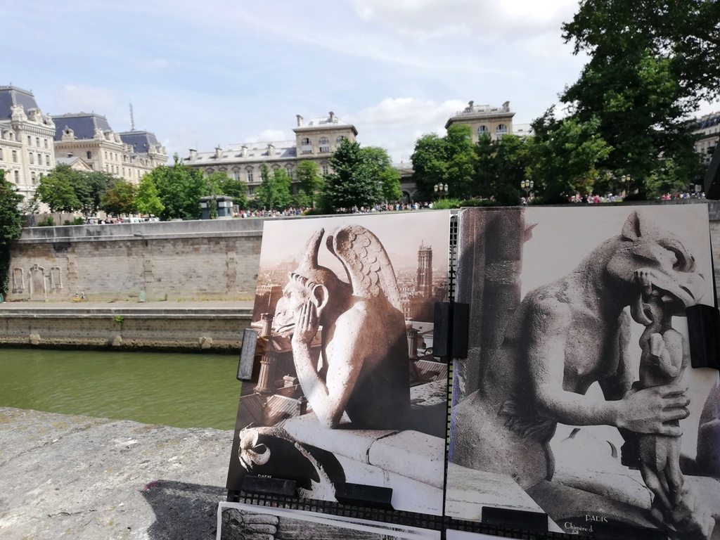 gargolyes a Parigi