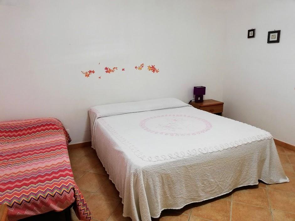 camera da letto della casa sulla spiaggia a Donnalucata