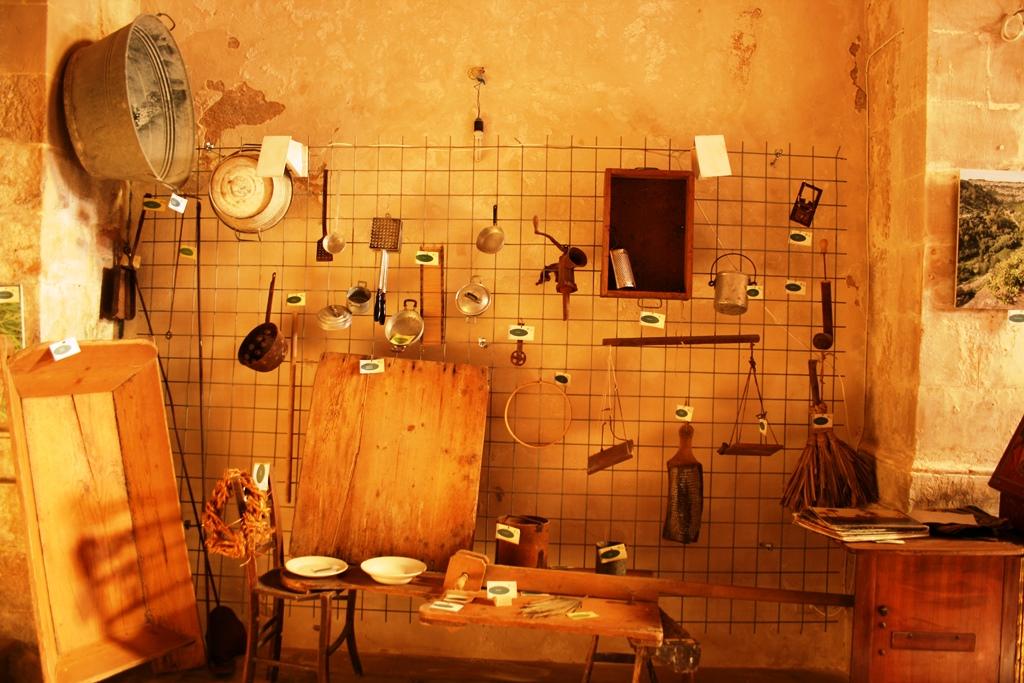 interno del museo a Scicli