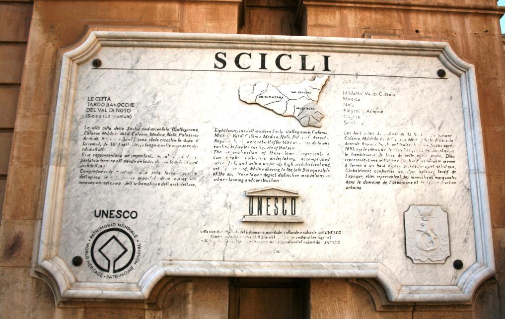 Scicli Unesco