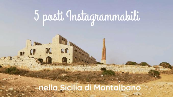 I luoghi di Montalbano in Sicilia fornace penna