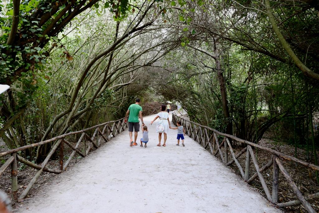 Parco Archeologico della Neapolis di Siracusa con i bambini
