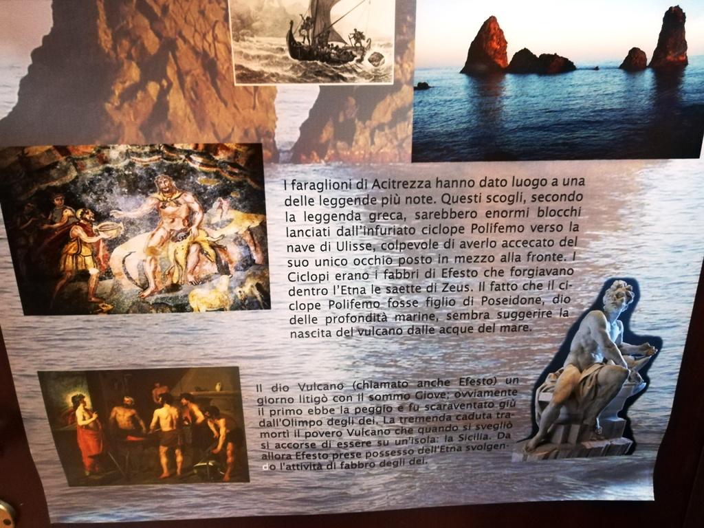 mitologia al museo geologico gemmellaro