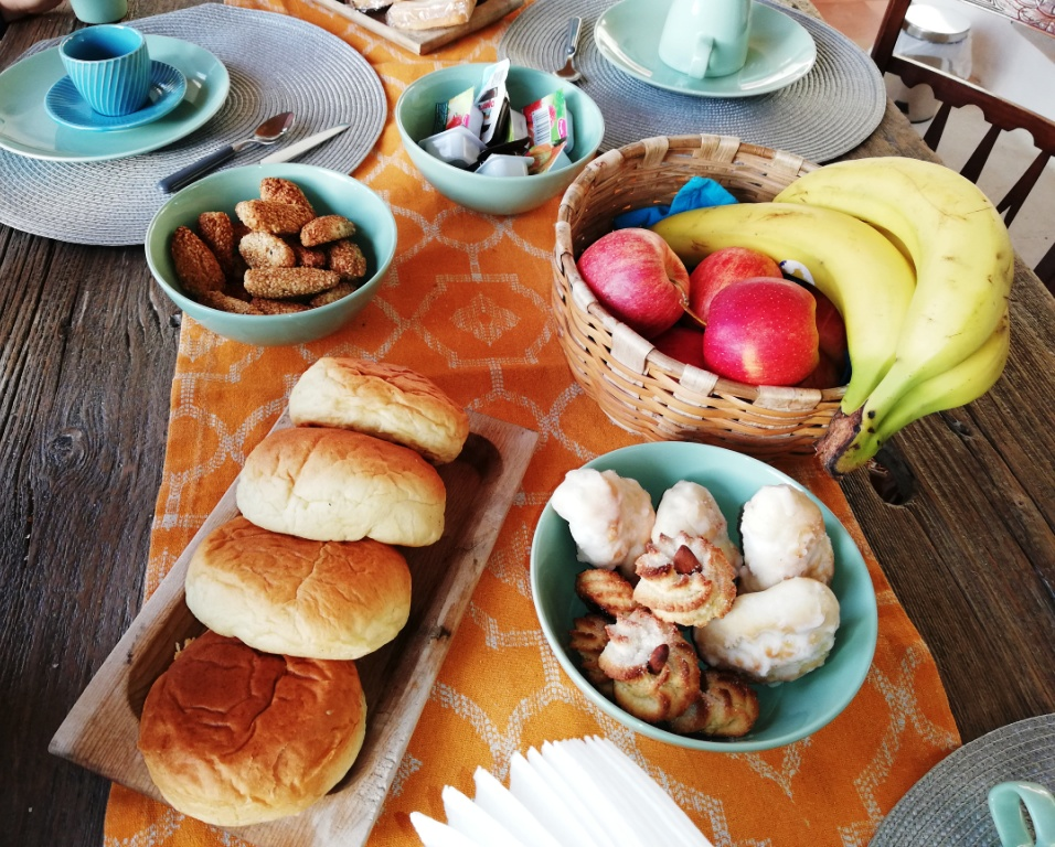 colazione al donna franca di agrigento