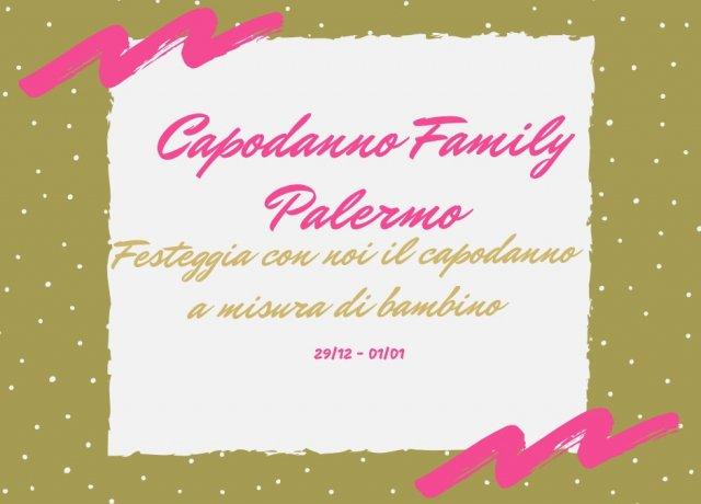 locandina di un'offerta capodanno con bambini in Sicilia a Palermo