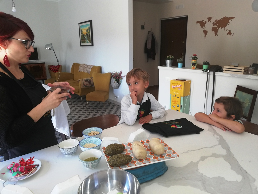 lezioni di cucina in Sicilia