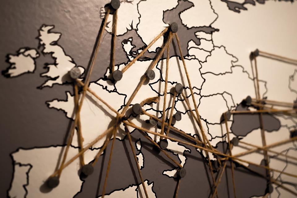 mappa per travel blogger