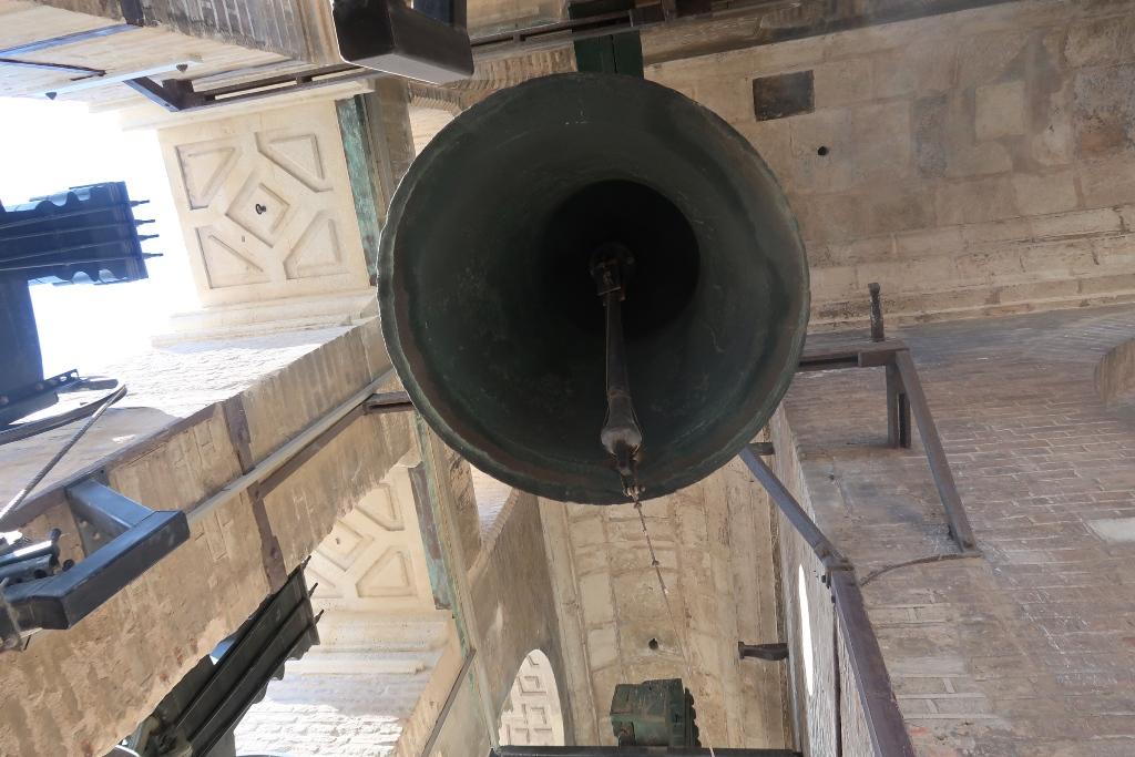 campana sulla cattedrale di Siviglia