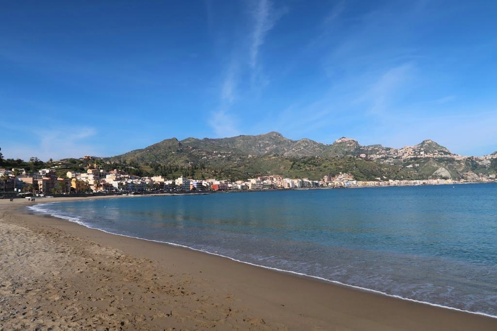 spiaggia di Giardini Naxos