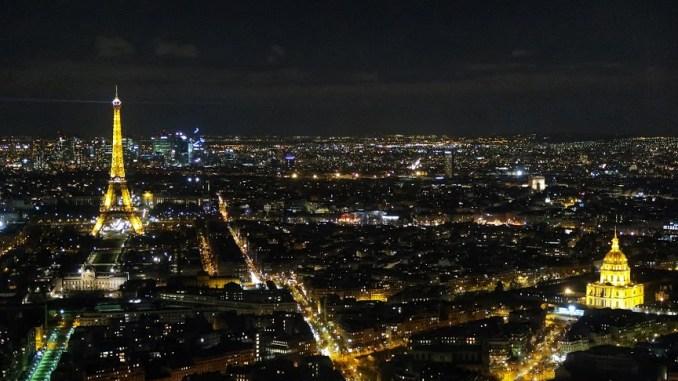 Parigi vista dalla Tour Montparnasse