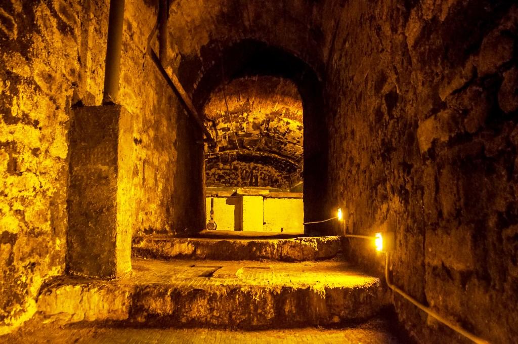 sito archeologico di Viterbo sotterranea da visitare anche con i bambini