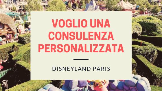 consulenza personalizzata per risparmiare a disneyland paris